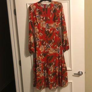 Festive sheer summer dress!